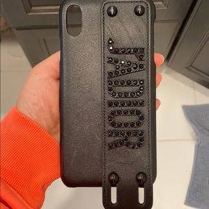 DIOR iphone X MAX case with strap